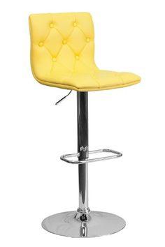 Button Tufted Seat & Back Swivel Home Office Kitchen Bar Counter Stools 9-Colors #112080 (Yellow) ObiwanSales,http://www.amazon.com/dp/B00EQDEL9I/ref=cm_sw_r_pi_dp_klQvtb0E9VSZ0YXG