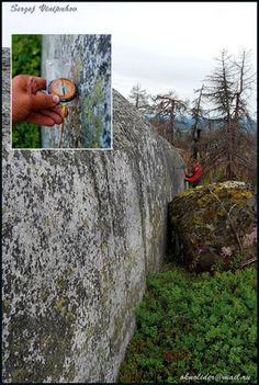 Vottovaara, Russia....website is in Russian but obviously an ancient megalithic site in the middle of nowhere. Great pics!!