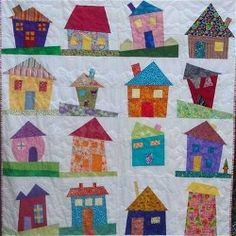 Our Monday's at Monica's quilt group wants to exchange Wonky House quilt blocks.  Here are some to look at.    Wonky House quilt  http://www.craftster.org/blog/wonky-house-quilt/