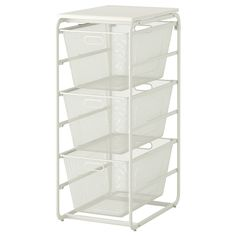 ALGOT Frame/3 mesh baskets/top shelf - IKEA