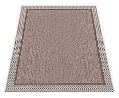 Tappeto indoor&outdoor in polipropilene Grace grigio - 200x290 cm
