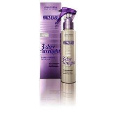 JOHN FRIEDA TRAT F EASE SPRAY 3 DAY STRAGHT SE 103ML Spray de peinado semi permanente, que te ayuda a conservar un liso perfecto entu cabello por tres días.