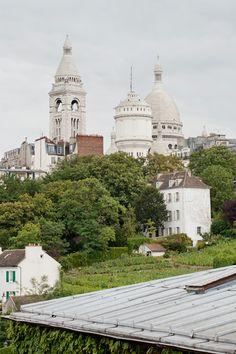 OCHRE's designer Solenne de la Fouchardière and the view from her Parisian apartment ochre.net