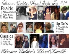 """""""Eleanor Style Tip #14 (hair)"""" by eleanorscloset ❤ liked on Polyvore"""