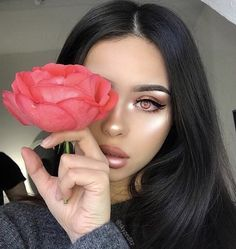 Image about lady woman women in Mein Stil by Beautiful Lips, Gorgeous Makeup, Love Makeup, Simple Makeup, Makeup Inspo, Makeup Inspiration, Makeup Style, Beautiful Women, Makeup On Fleek