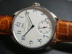 IWC Portuguese FA Jones Limited Edition Stainless Steel