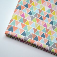 Triangle Fabric by KatherineCodega