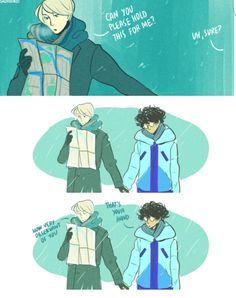 Drarry @sadfishkid tumblr <<<< I don't ship it but this is very adorable