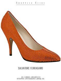 Mujer - Zapato - Salvatore Ferragamo - El Palacio de Hierro - El Libro Amarillo Otoño Invierno 12/13