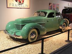 National Auto Museum, Reno - 1936 Cord 810 Westchester sedan by The Brucer, via Flickr