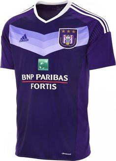 7710bc48e7 Adidas apresenta as novas camisas do Anderlecht - Show de Camisas Camisetas  De Futebol