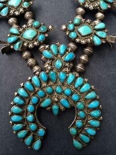 Navajo / Southwest / Turquoise / Zuni on Pinterest | Squash Blossom N…