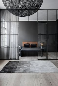 40 Best Bedroom Interior Design You Will Love to Makeover Your Home! Awesome Design Ideas for Your Bedroom. Try this beautifulgreat design ideas. Loft Interior, Modern Interior Design, Interior Design Inspiration, Interior Architecture, Bedroom Inspiration, Color Inspiration, Minimal Architecture, Interior Colors, Interior Livingroom
