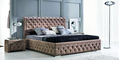 Buy affordable & unique furniture in Concept Muebles. Double King Size Bed, King Size Bed Frame, Double Beds For Sale, Bed Without Mattress, Camas King, Large Beds, Black Bedding, King Beds, Modern Beds