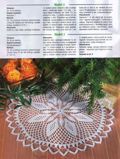 "Photo from album ""Dekoratives Hakeln on Yandex. Crochet Motif, Crochet Shawl, Crochet Doilies, Oblong Tablecloth, Floral Curtains, Crochet Books, Floral Border, Crochet Scarves, Free Pattern"