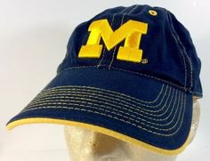 b96a150a6852e One of the popular football teams. Michigan University Wolverines Football  Baseball Cap Hat Adjustable 100