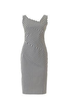 Платье-футляр - выкройка № 119 В из журнала 4/2016 Burda – выкройки платьев на Burdastyle.ru