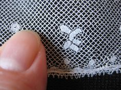 Antique Lace Very Fine Handmade Valenciennes Lace c1820 Collection | eBay