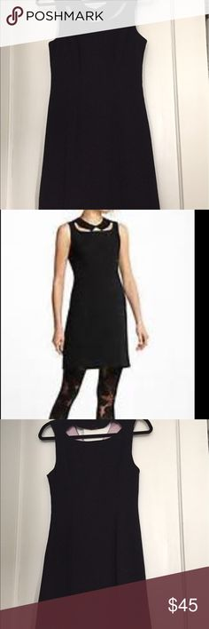 LBD this dress is amazing!! This LBD is classic!! The cutouts on the collar and back are stunning!! Tag says 0 but it's vanity sized fits 2-4. Anthropologie Dresses