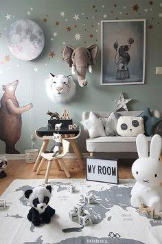 Ideias bem bacanas de decoração com paredes divertidas, dessas que fazem a gente viajar nos pensamentos e termos sentimentos deliciosos! confira!