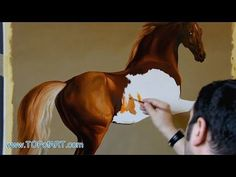 Stubbs - Whistlejacket | Art Reproduction Oil Painting - YouTube
