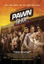 "Pawn Shop Chronicles        Pawn Shop Chronicles      Pawn Shop Chronicles  Ocena:  5.90  Žanr:  Action Comedy Crime  ""One small town pawn shop. One big time wild ride.""An anthology of stories involving meth addicted white supremacists a man looking for his kidnapped wife and an Elvis impersonator.  ""  Glumci:  Paul Walker Matt Dillon Brendan Fraser Kevin Rankin Vincent D'Onofrio Norman Reedus Chi McBride Elijah Wood DJ Qualls Pell James  Režija:  Wayne Kramer  Država:  USA  Trajanje:  112…"