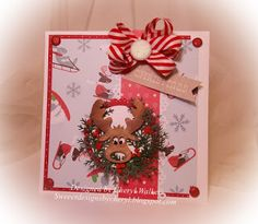 CottageBLOG: Holiday Cocoa & Holly Jolly Moose /2Cards