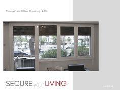 Τοποθέτηση ενεργειακών κουφωμάτων αλουμινίου Alousystem Ultra Live For Yourself, Windows, Window