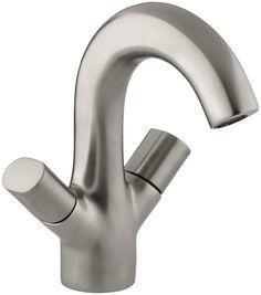 Oblo Single-Hole Monoblock Bathroom Sink Faucet