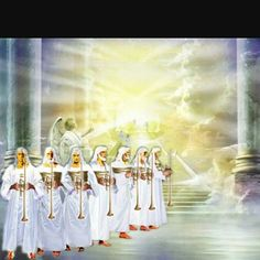 """""""The Seventh Seal and the Golden Censer""""  Revelation 8:1-5 When he opened the seventh seal, there was silence in heaven for about half an hour. And I saw the seven angels who stand before God, and seven trumpets were given to them. Another angel, who had a golden censer, came and stood at the altar. He was given much incense to offer, with the prayers of all God's people, on the golden altar in front of the throne. The smoke of the incense, together with the prayers of God's people, went up…"""