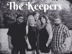 The Keepers are Dana(vocals), Rick(guitar), Steve(bass), Shannon(vocals), Ramsey Ahmed(drums). Event Services, Drums, Bass, Guitar, Couple Photos, Couples, Couple Pics, Flat, Drum