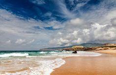 Praia da Cresmina em Cascais #viagem #lisboa #portugal