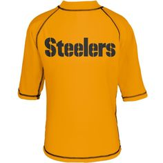 Pittsburgh Steelers - Logo Rash Guard Juvy T-Shirt