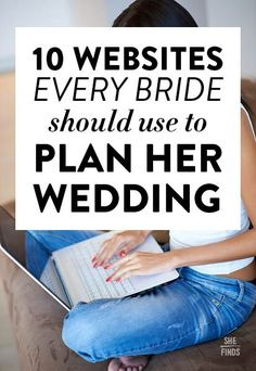 Websites every bride should use
