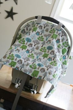 The simplest and most logical car seat cover tutorial