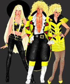 the stingers from jem and the holograms
