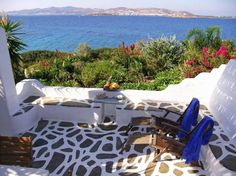 Entire home/apt in Paros, GR. 9 traditional, independent villas offering full privacy, ranging from 80m² to 120m². Each villa has spacious living room with built-in sofas & fireplace, large kitchen, comfortable dining area, 2 or 3 bedrooms, 1 or 2 bathrooms and big verandas.