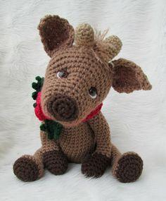 Amigurumi Crochet Reindeer Paid Pattern