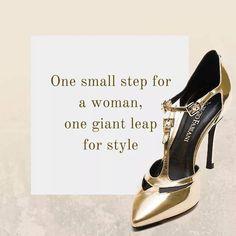 Un piccolo passo per una donna, un grande passo per lo stile! www.giorgiofabiani.it  #befab #giorgiofabiani #gold #fashion #shoes #glamour #glamstyle #fashiongram #style #golden #shop #fashion #style #stylish #beauty #instafashion #pretty #girly #girl #girls #shoes #heels #styles #shopping