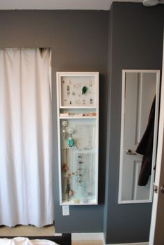 cc5d6f0d731d DIY Jewelry Box wall mount. Will someone make this for me  Jewellery  Storage