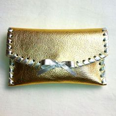 Gold laced clutch #careybags