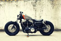 Custom Harley Sportster by Hidemo, Japan