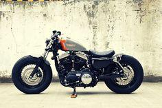 Custom Harley Sportster by Hidemo, Japan
