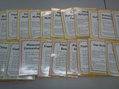 FREEBIE FRIDAY: Math Workshop Game Direction Sheets