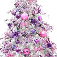 ... Christmas ornate European-style luxury 1.5 -based white rice purple Christmas tree decoration Package ...