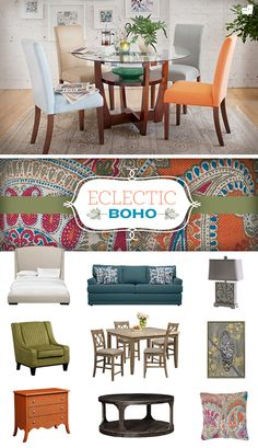 FREE-SPIRITED STYLE.Go bold. Go beautiful. Go Boho with the colorful and cool designs of the Eclectic Boho Collection.