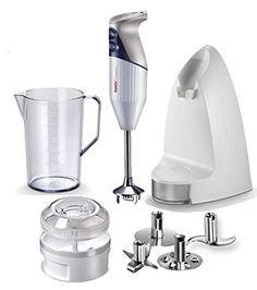 Bamix SwissLine Anniversary Edition 8Piece Immersion Blender Set White * Learn more by visiting the image link.