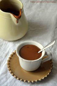 Petite Cuillère et Charentaises: Chocolat chaud à l'Italienne Dark Chocolate Brands, Sweet Bar, Bon Appetit, Brunch, Breakfast, Ethnic Recipes, Desserts, Food, Hui