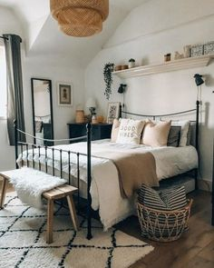 Home Decoration Design .Home Decoration Design Room Ideas Bedroom, Dream Bedroom, Home Decor Bedroom, Dream Rooms, Decor Room, Aesthetic Bedroom, My New Room, House Rooms, Room Inspiration