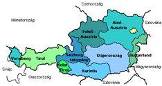 Ausztria Tartományok